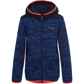 Icepeak Kirwin Fleece Jas Jongens, navy blue